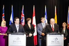 Ministro Jason Kenney di occupazione del Canada Fotografia Stock