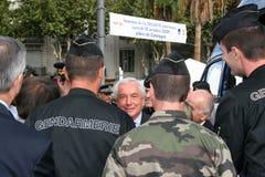 Ministro menor Alain Marleix Foto de archivo libre de regalías
