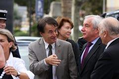 Ministro menor Alain Marleix Fotografía de archivo libre de regalías