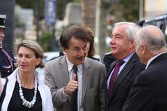 Ministro menor Alain Marleix Foto de archivo