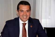 Ministro Nikola Poposki Fotografía de archivo libre de regalías