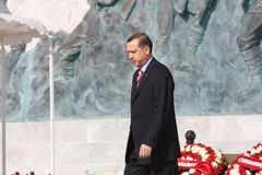 Ministro Primo Recep Tayyip Erdogan della Turchia Fotografie Stock