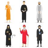 Ministros da religião ilustração royalty free
