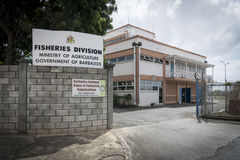 Ministry of Agriculture Building in Bridgetown, Barbados Royalty Free Stock Images