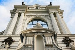 Ministry of Agriculture and Food. Palace of farmers in Kazan stock images