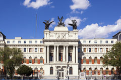 Ministry of agriculture in Madrid Stock Photo