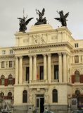 The Ministry of Agriculture in Madrid, Spain Royalty Free Stock Photography