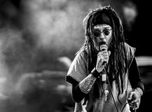 Ministry  Al Jourgensen live in concert 2017 industrial metal Stock Photos