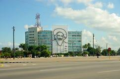 Ministry of Communications in the Plaza de la Revolucion Havana Royalty Free Stock Image