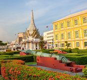 Ministry of Defence building Bangkok and museum Royalty Free Stock Photography