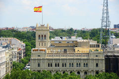 Ministry of Defence of Spain, Madrid, Spain Royalty Free Stock Images