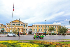 Ministry of Defence and tuk tuk Stock Image