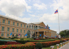 Ministry of Defense, Bangkok, Thailand. Ministry of Defense, a Cabinet Level Government Department of the Kingdom of Thailand Stock Image