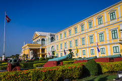 Ministry of Defense,Thailand. Colorful of building at Ministry of Defense,Thailand Stock Images