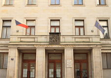 Ministry of Finance of Czech Republic Royalty Free Stock Photography