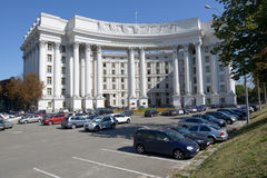 Ministry of foreign affairs in Kiev, Ukraine Stock Photography