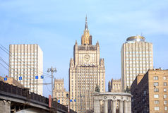 Ministry of Foreign Affairs of Russia Royalty Free Stock Image