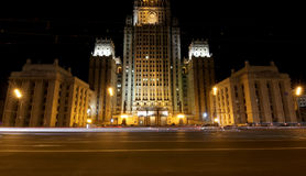 Ministry of Foreign Affairs of the Russian Federation, Smolenskaya Square, Moscow, Russia Stock Images