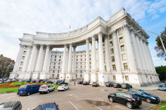 Ministry of Foreign Affairs of Ukraine building Stock Images