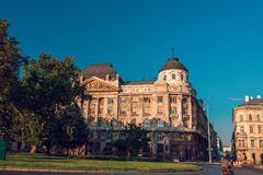 Ministry of interior of Hungary Royalty Free Stock Photo