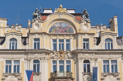 Ministry of Local Development building at Prague Royalty Free Stock Photos