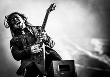 Ministry Sin Quirin live in concert 2017 industrial metal Stock Images