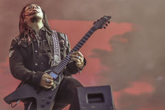 Ministry Sin Quirin live in concert 2017 industrial metal Royalty Free Stock Image