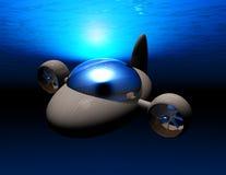 minisubmarine2 stock illustrationer