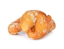 Minisuiker met een laag bedekte doughnuts Stock Fotografie