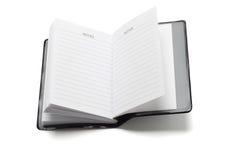 Minitaschenanmerkungsbuch Stockbilder