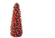 Minititure Christmas Tree Royalty Free Stock Photography