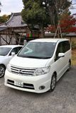 Minivan στην Ιαπωνία Στοκ φωτογραφία με δικαίωμα ελεύθερης χρήσης