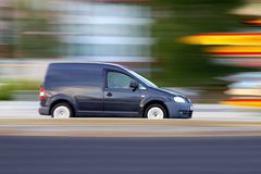 Minivan Royalty Free Stock Image