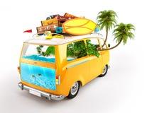 minivan Foto de archivo