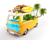 minivan Arkivfoto