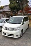 Minivan en Japón Fotografía de archivo libre de regalías