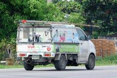 Minivrachtwagen van Waar bedrijf Stock Fotografie