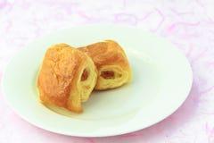 Miniwurst. Stockbild