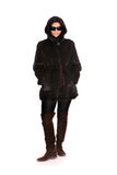 Mink coat Royalty Free Stock Photos