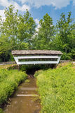 Mink Hollow Covered Bridge Royalty Free Stock Photos