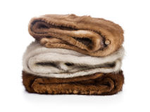 Mink Stoles Stock Photo