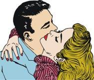 Minnaars, de Dag van de Valentijnskaart vector illustratie