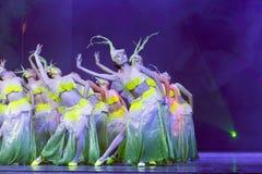舞蹈minnan妇女 免版税库存照片