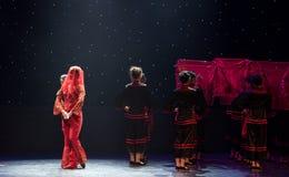Minnan que se casa danza popular aduana-china Imagen de archivo