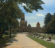 Minne av det stupat för deras hemland Minnesmärke till fångarna av fascism på den södra kyrkogården i Leipzig royaltyfri foto