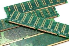 Minne för slumpmässigt tillträde (RAM) Arkivbilder