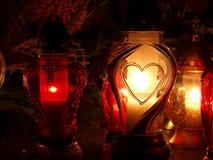 Minne och ljus Royaltyfri Fotografi