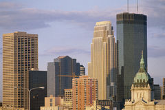 Minneapolis Royalty Free Stock Photography