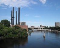 Minneapolis de Mississippi Stock Foto's