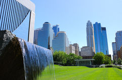 Minneapolis downtown. Picture of Minneapolis downtown architecture Stock Photography